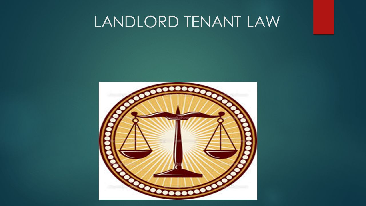 Subject Matters Discussed Entering into Landlord / Tenant Relationship Laws that govern Laws and Procedures regarding the eviction Collection Process Areas of Interest concerning the entire process