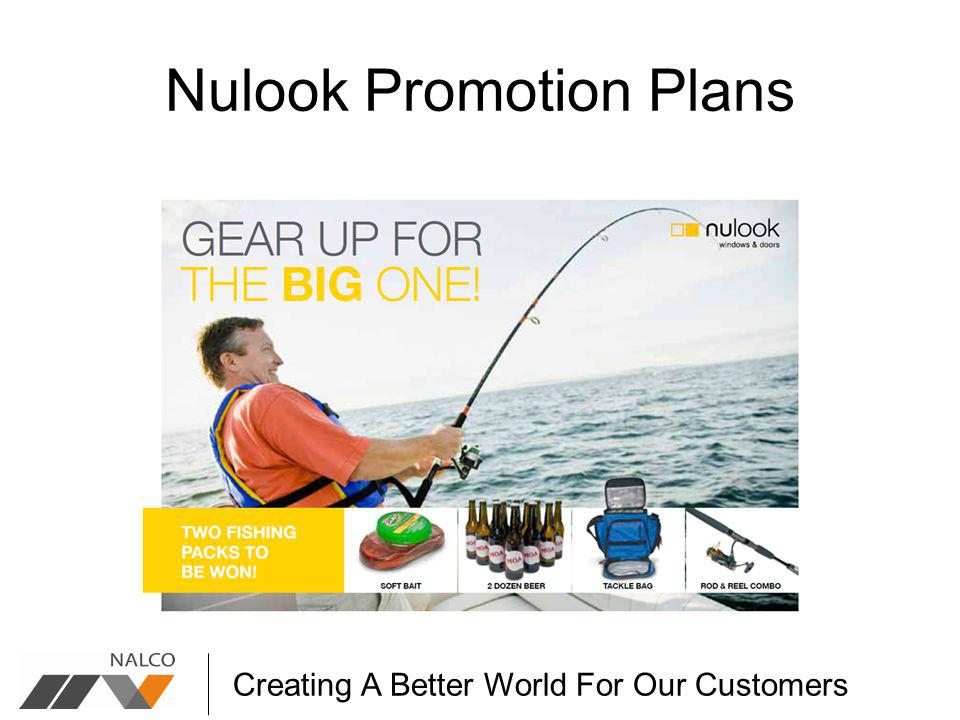 Creating A Better World For Our Customers Nulook Promotion Plans