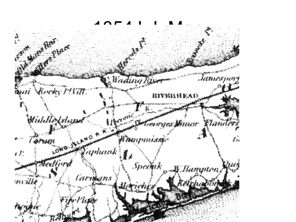 1854 L.I. Map