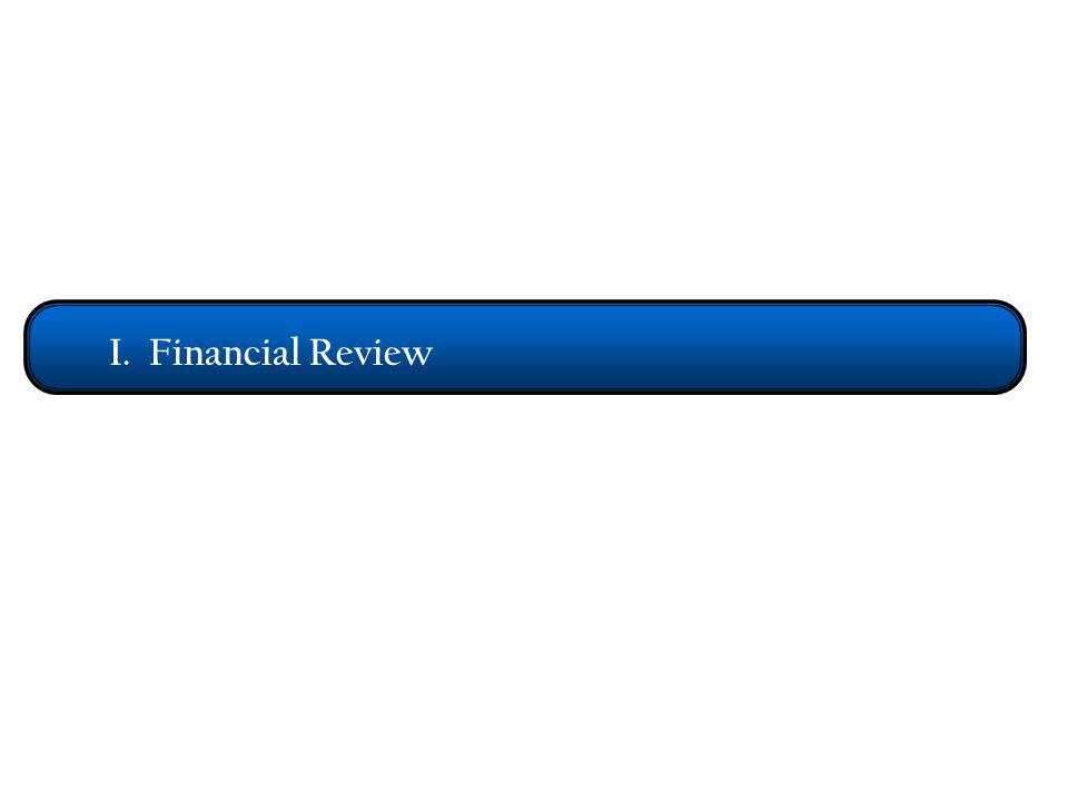 I. Financial Review