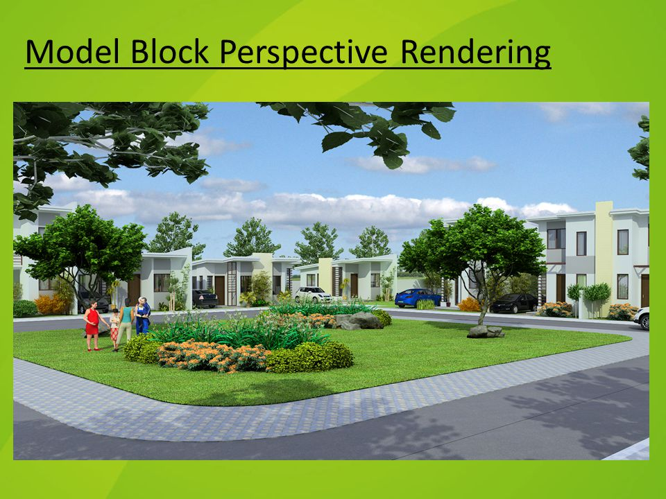 Model Block Perspective Rendering