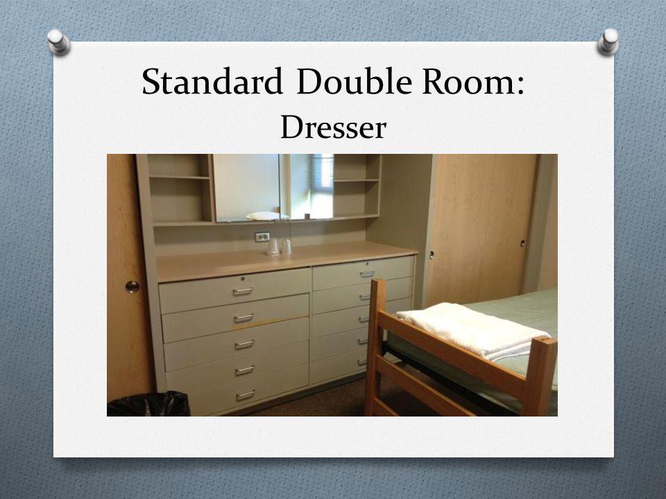 Standard Double Room: Dresser