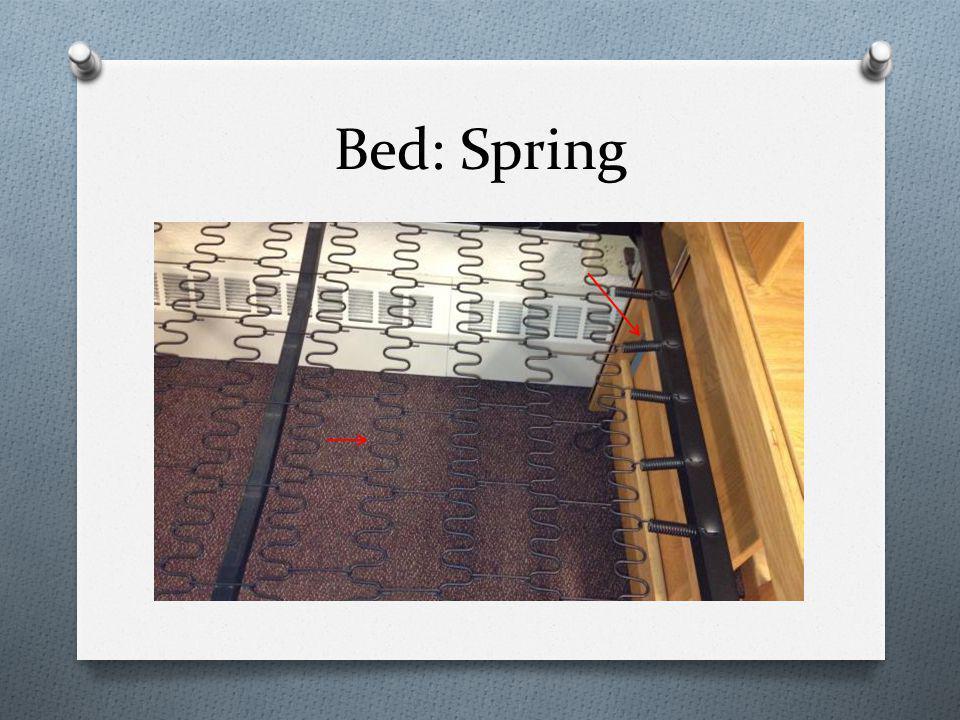 Bed: Spring