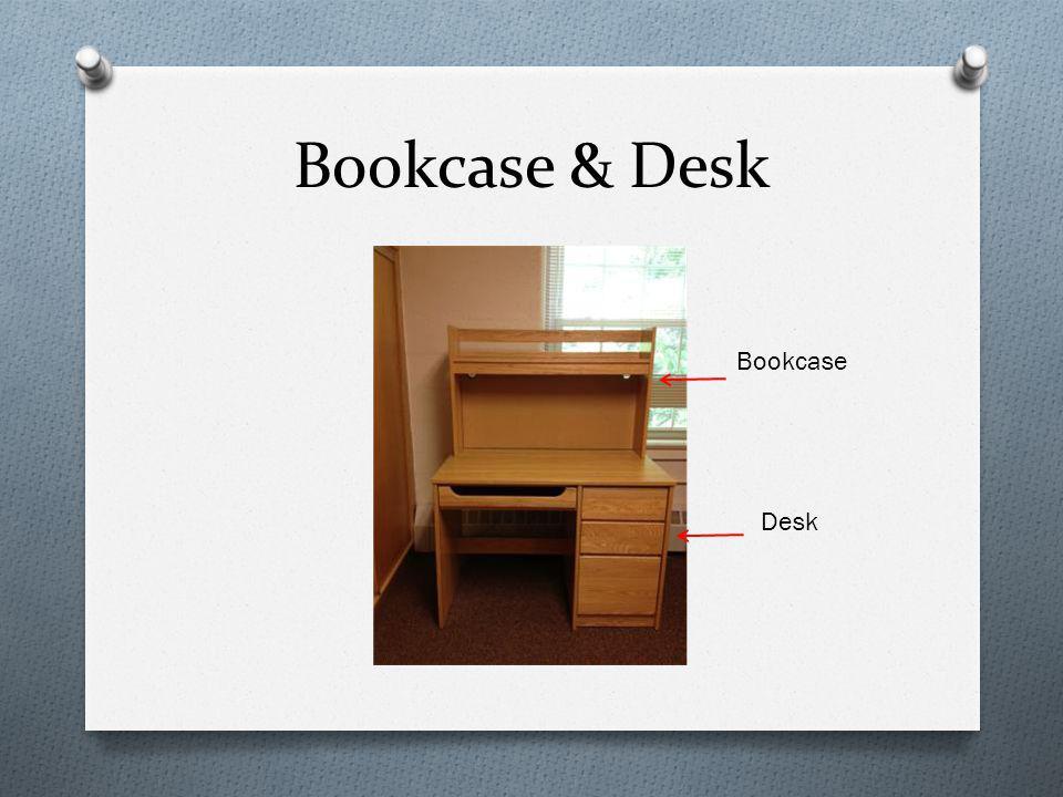 Bookcase & Desk Bookcase Desk