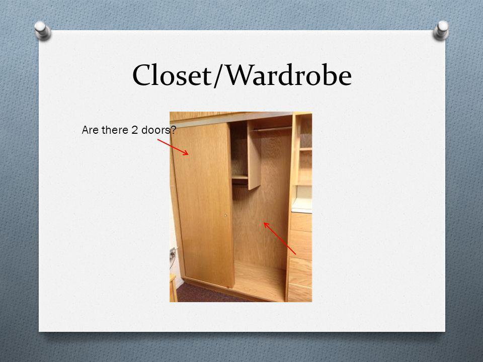 Closet/Wardrobe Are there 2 doors?