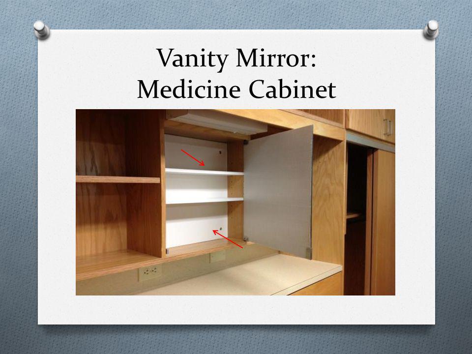 Vanity Mirror: Medicine Cabinet