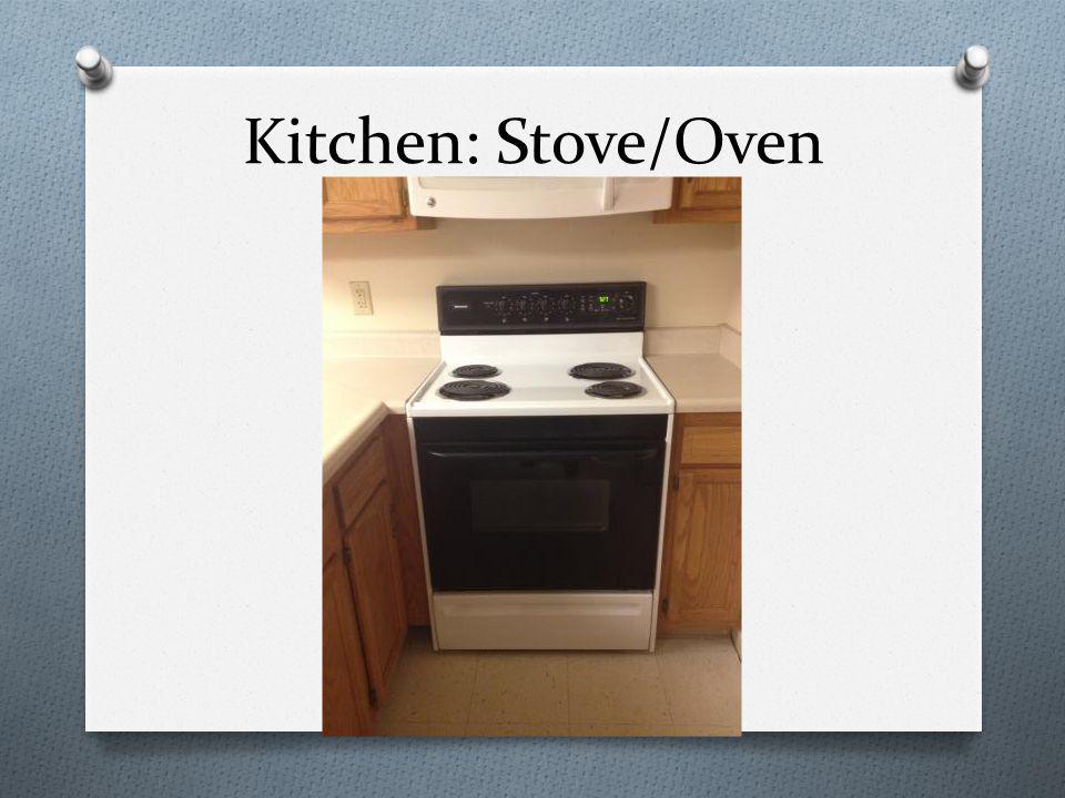 Kitchen: Stove/Oven