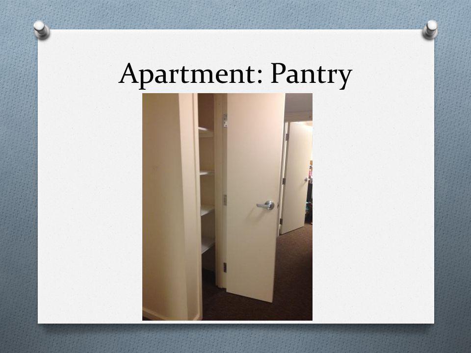 Apartment: Pantry