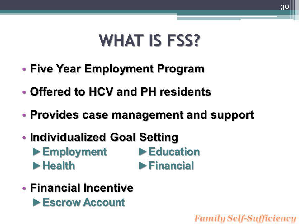 Marin Housings Family Self-Sufficiency Program 29 Presented by June Palladino