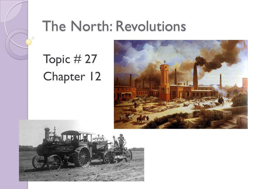 The Industrial Revolution Begins Starts in Great Britain in mid-1700s.