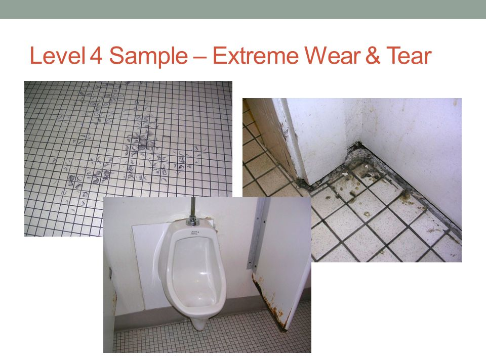 Level 4 Sample – Extreme Wear & Tear