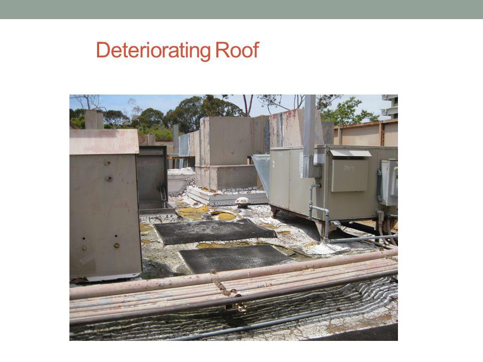 Deteriorating Roof