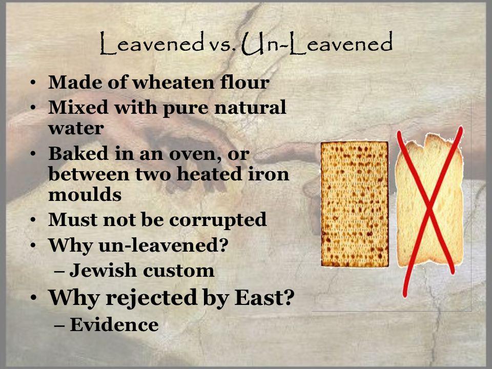 Leavened vs.