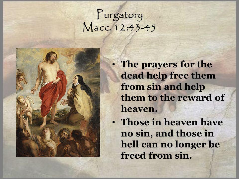 Purgatory Macc.
