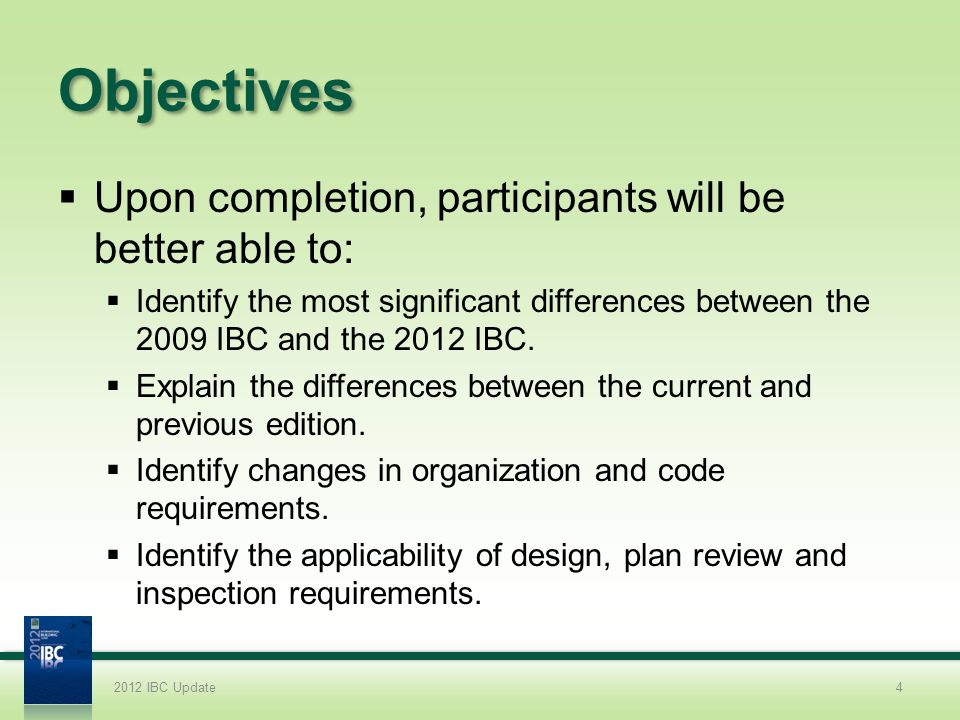 Chapter 2 Changes How do you think the reorganization of the definitions from specific chapters to Chapter 2 will impact your use of the IBC.
