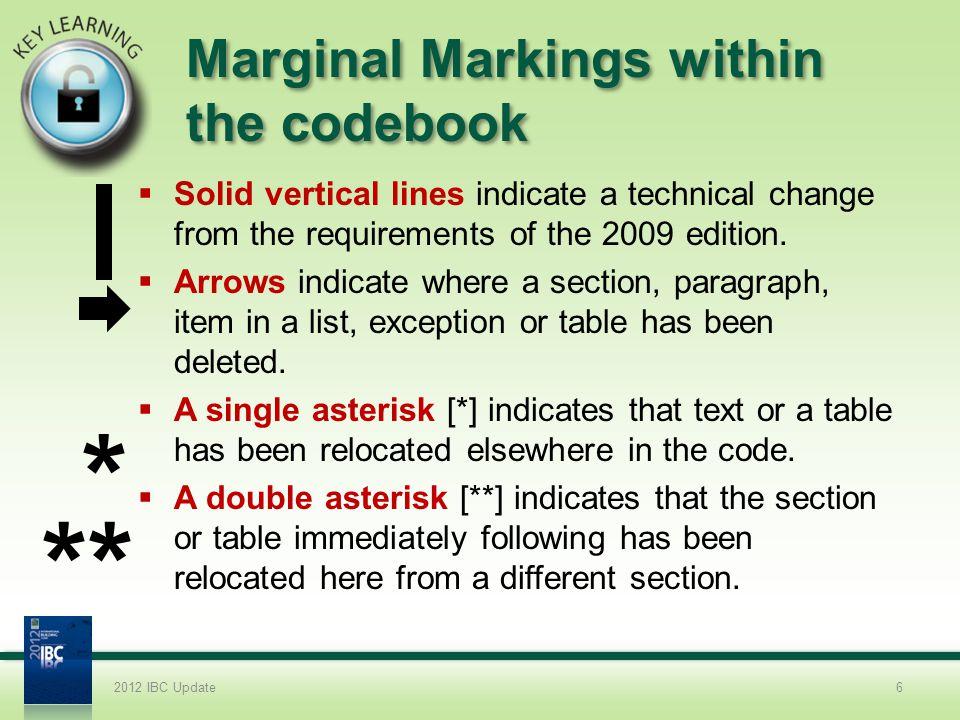 2012 IBC COMAR Modifications 11.Chapter 30.