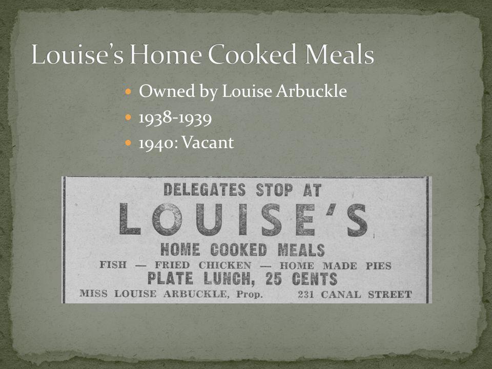 Owned by John D. Weiss 1939-1944 1937: Fishman Dept. Store 1939: Weiss Cash Market 1945: