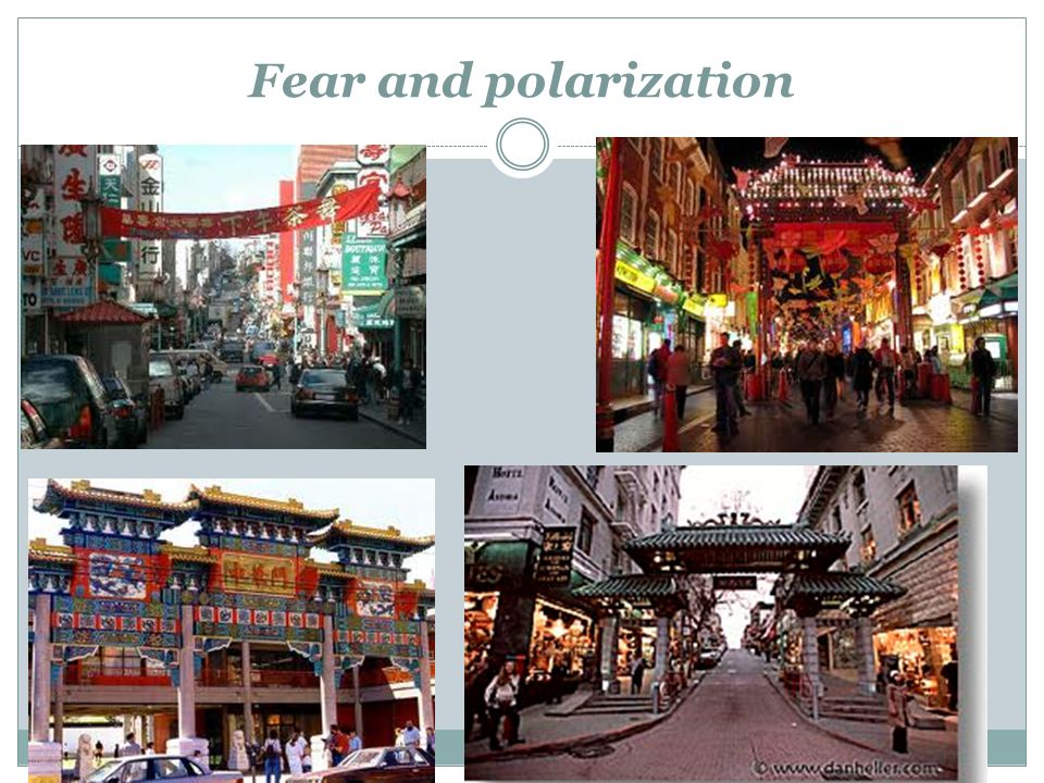 Fear and polarization