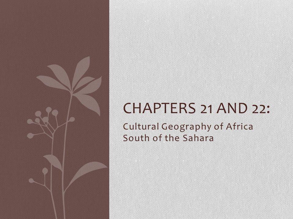 Sahel: Population Patterns o Sahel extends from Senegal to Sudan.