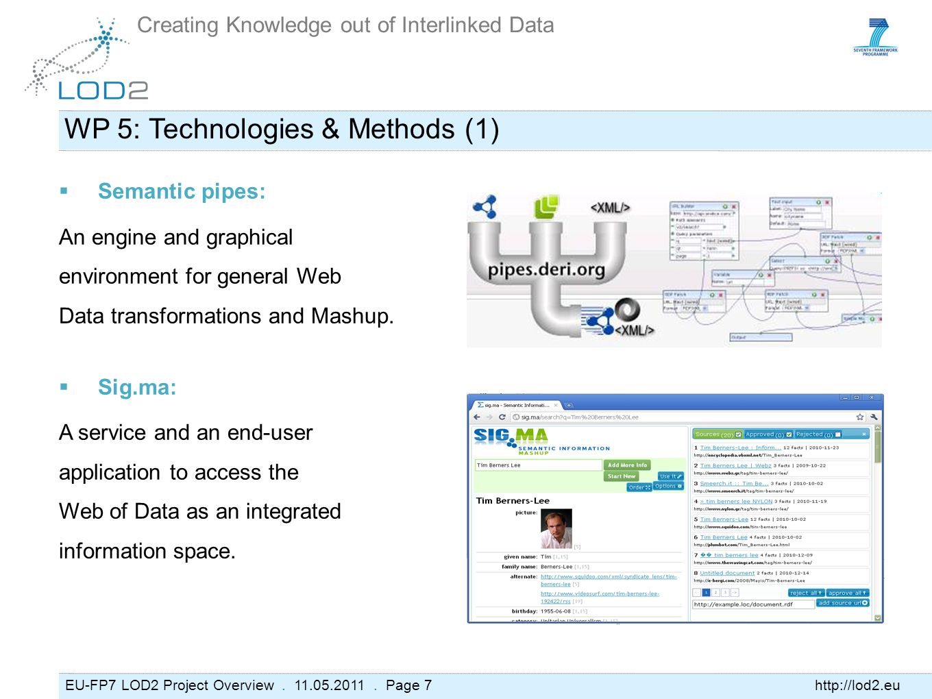 EU-FP7 LOD2 Project Overview. 11.05.2011.