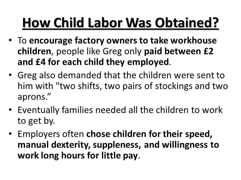 Faces of Child Labor