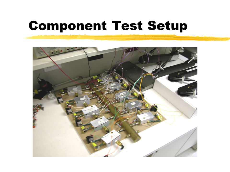 Component Test Setup