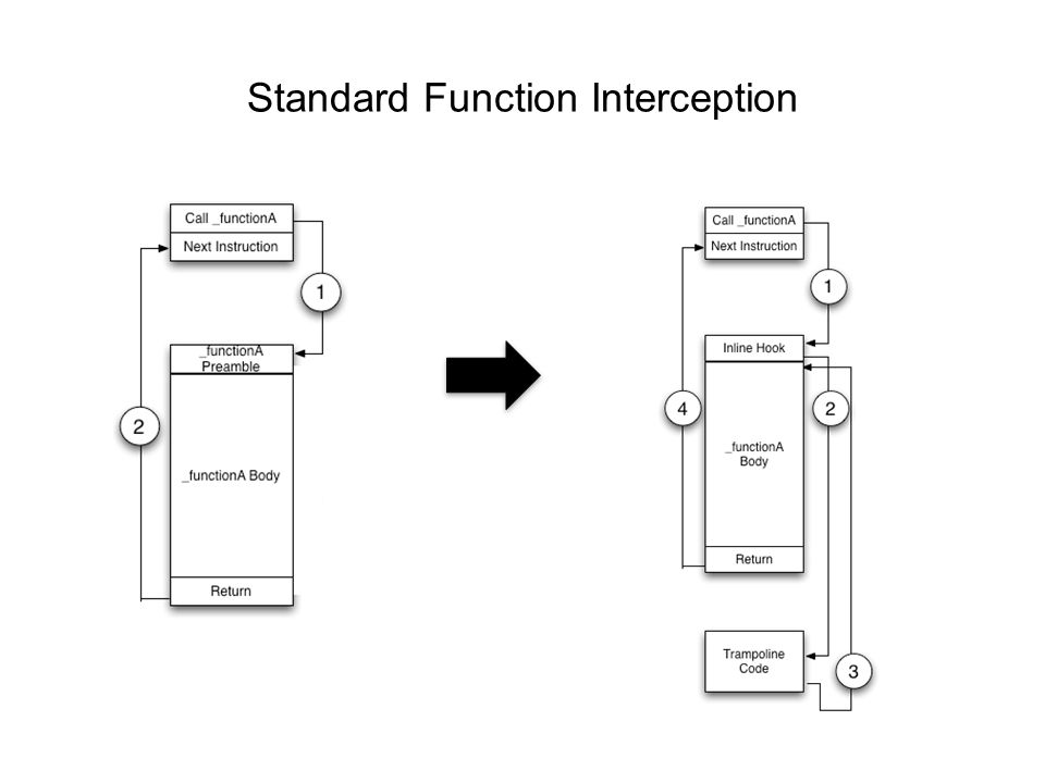 Standard Function Interception