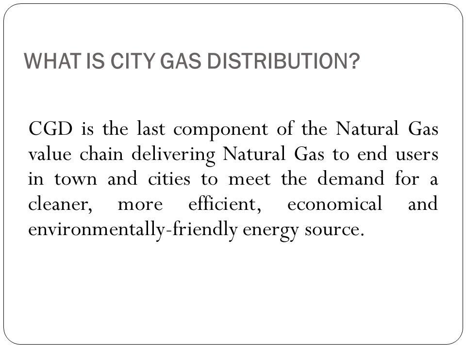 City Gas Distribution – Network Design