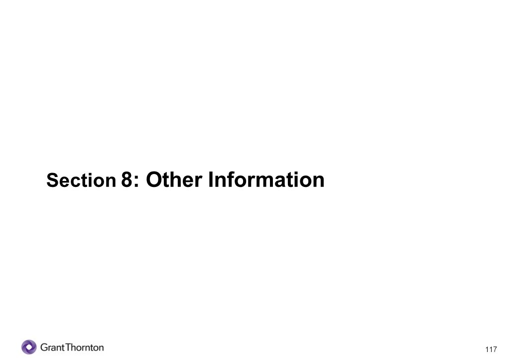 118 Section 8: Other Information Q1.What is your education background.