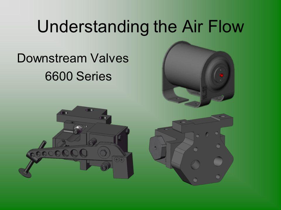 Understanding the Air Flow Downstream Valves 6600 Series