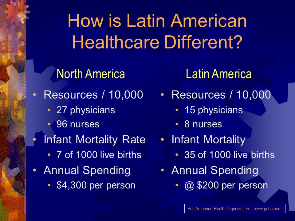 How is Latin American Healthcare Different.