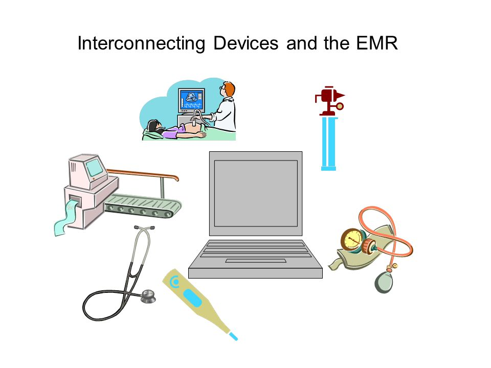 Connecting Cardiopulmonary Devices Provide bi-directional exchange of information between the EHR system and cardiopulmonary device software