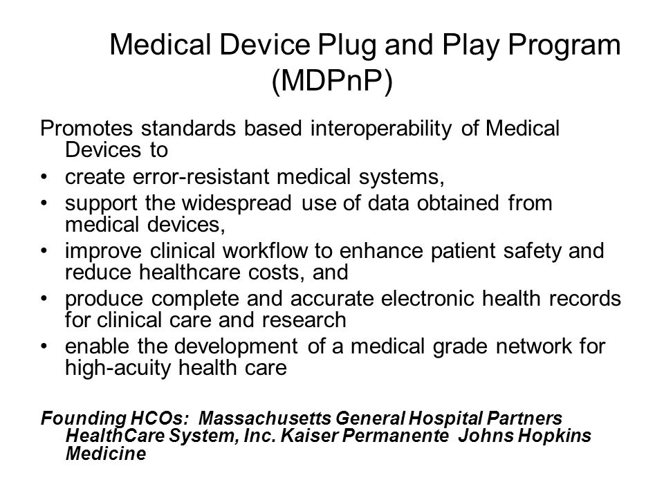 Vendor Certification Vendors that are certified have had their EHRs successfully tested for connectivity to a set of commonly used devices in the Ambulatory setting.
