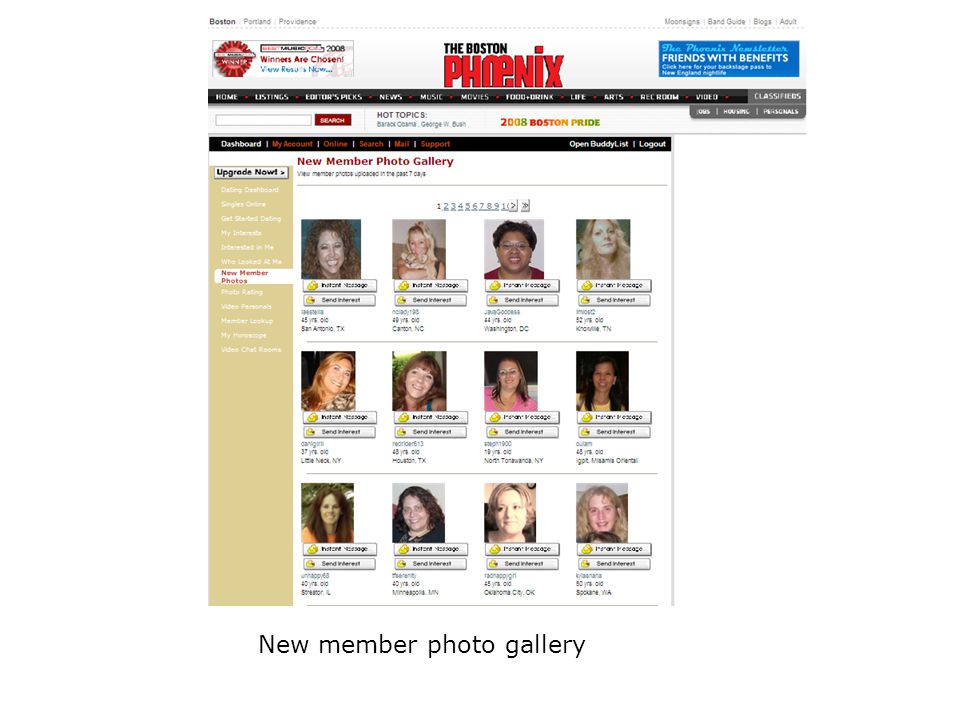 New member photo gallery