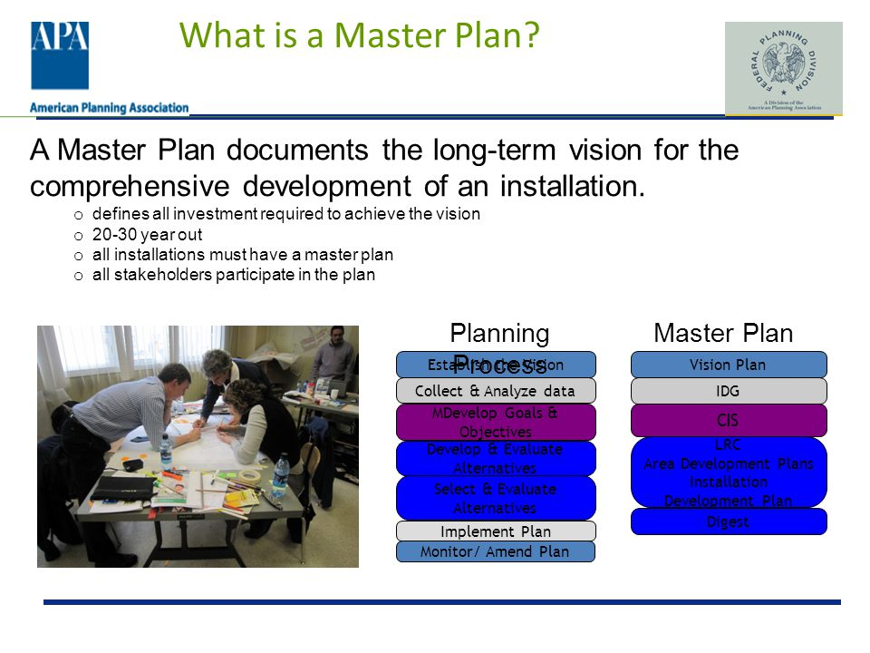 What is a Master Plan.