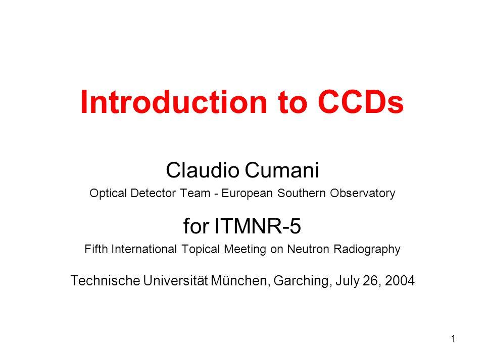 52 CCD QE and neutron detectors - 2