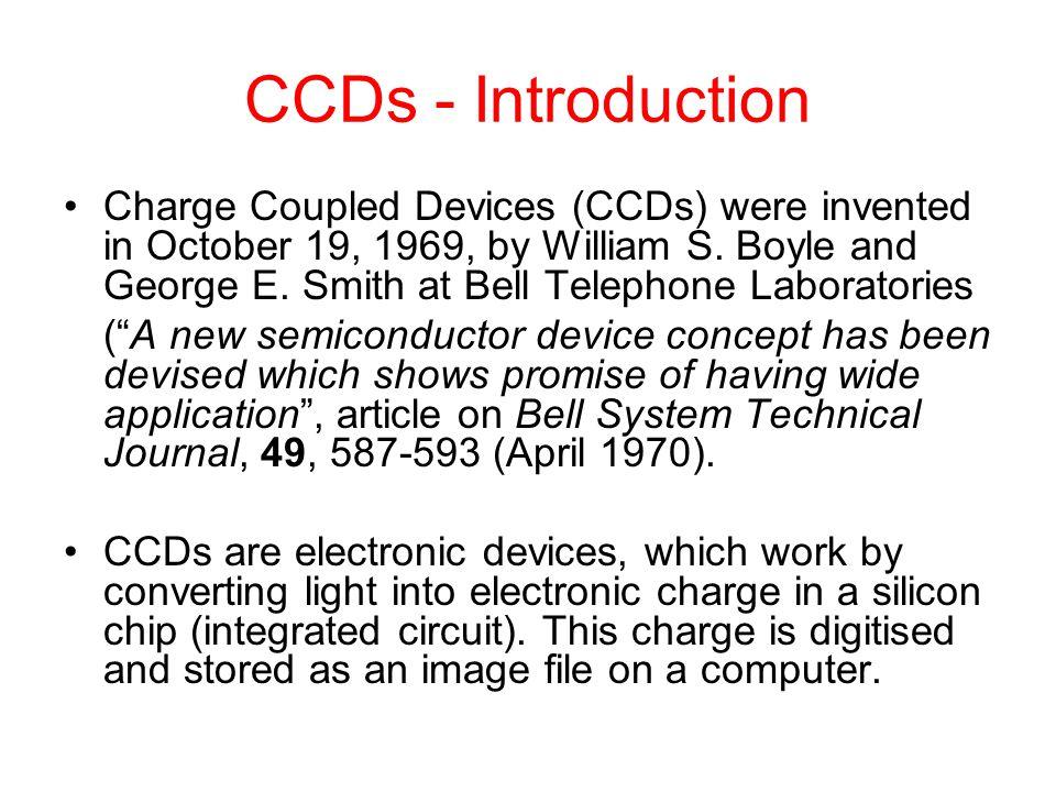 33 Interline-Transfer CCD Image area Storage (masked) area Serial register