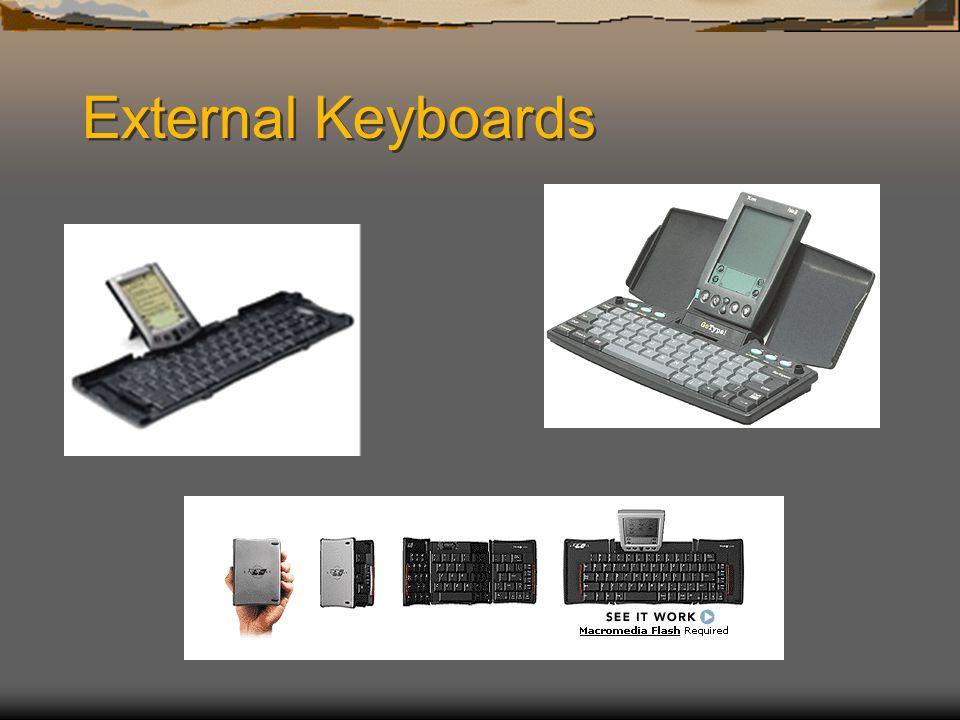 External Keyboards
