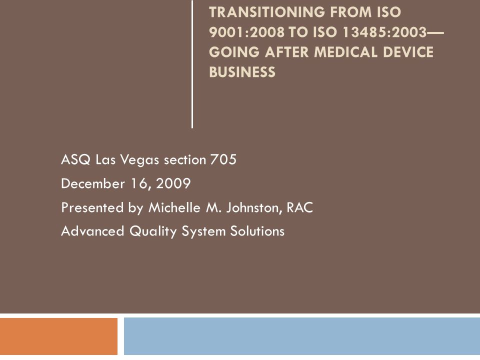 The Medical Device Sector 2 $100B industry More recession-proof than other sectors but hit in 2008/2009 Ageing US population (baby boomers) Growth in the following segments: Cardiac Orthopedic (record level of private equity) Neurotechnology (electronic devices interact with the nervous system) 15k medical device companies >400k jobs