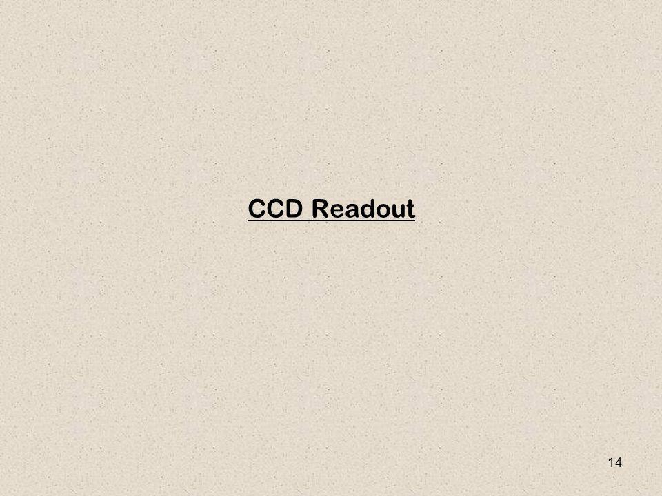 14 CCD Readout