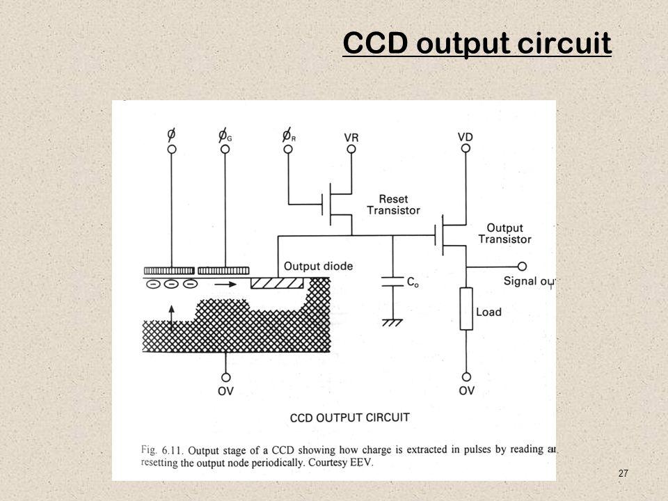 27 CCD output circuit