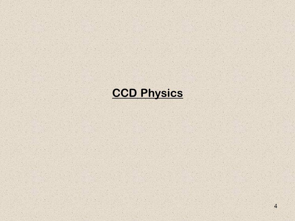 4 CCD Physics