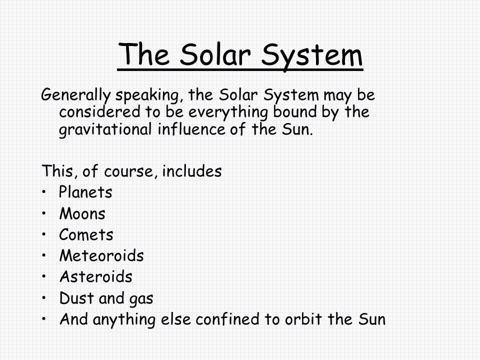 Earth s Statistics Mass (Kg)5.976E+24 Radius (Km)6378.14 Density (g/cc)5.515 Orbital Radius (AU)1.0 Rotational Period (days)0.99727 (23.9345 hrs) Orbital Period (days)365.256 Eccentricity0.0167 Tilt of Axis23.45 Orbital Inclination0.00 Albedo0.37 Mean Surface Temperature15 ºC (59 ºF) Atmospheric Pressure (bars)1.013 Atmospheric CompositionNitrogen 77% Oxygen 21% Other 2%