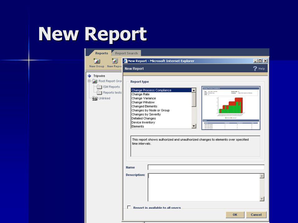 New Report