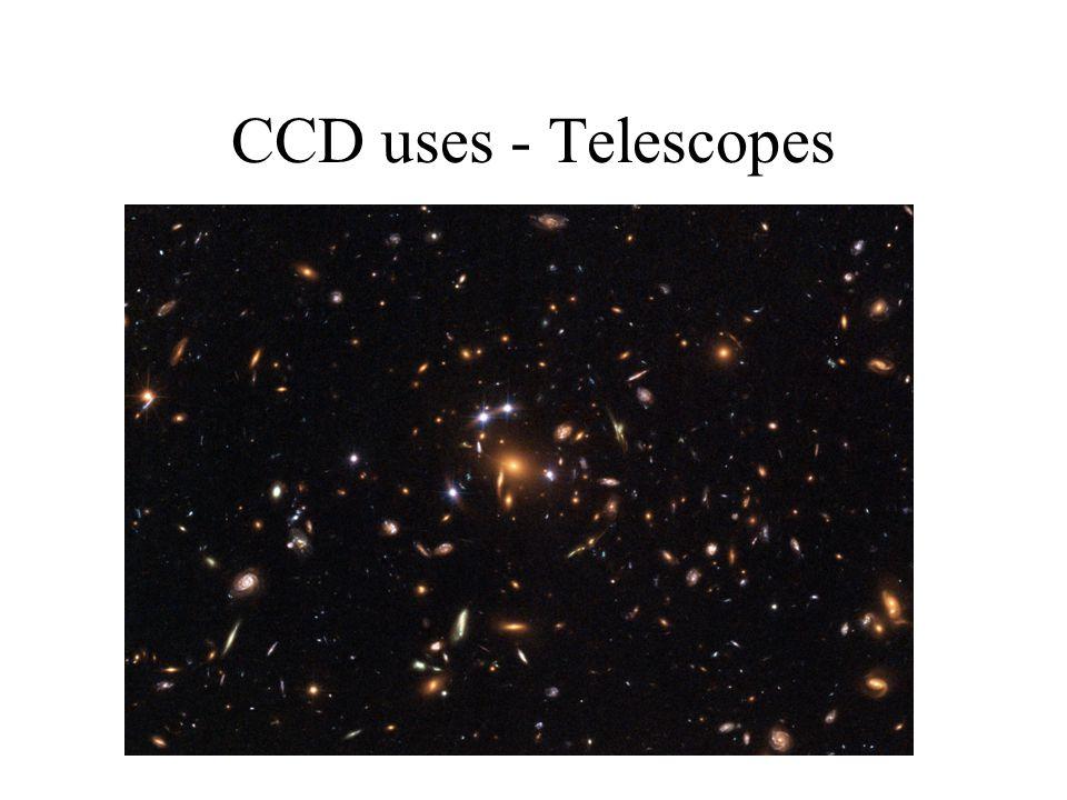 CCD uses - Telescopes
