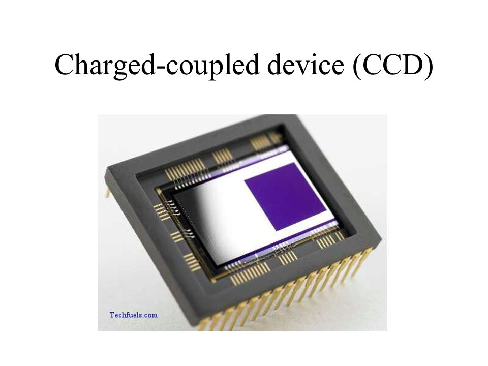 Charged-coupled device (CCD)