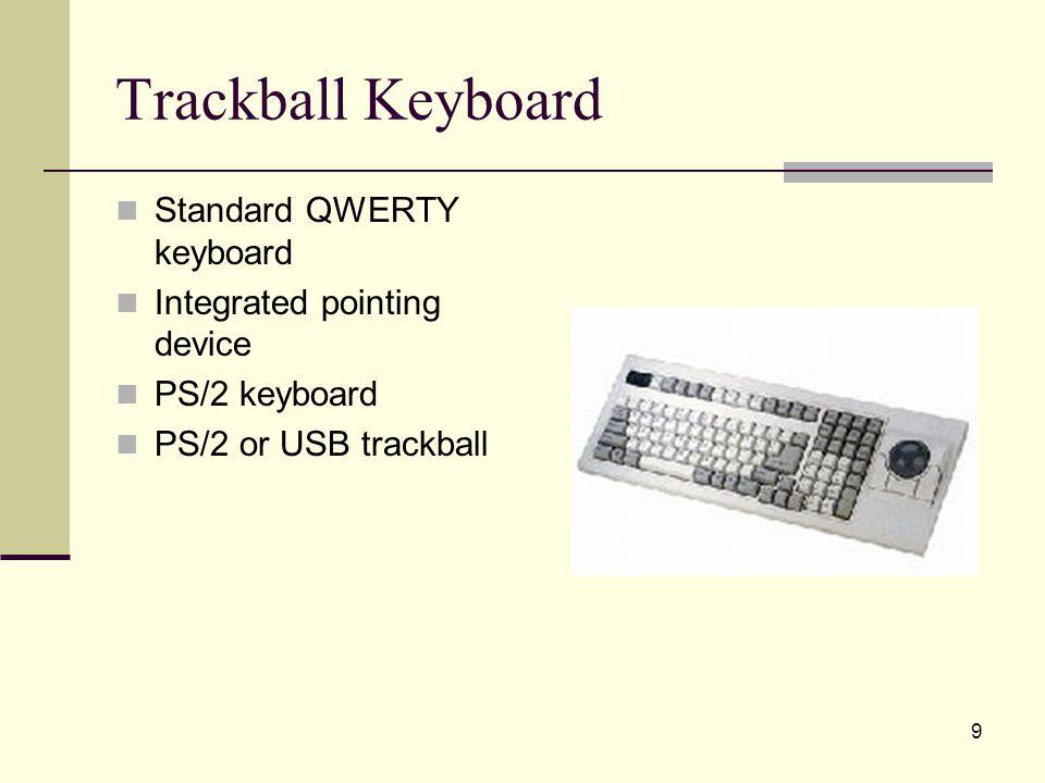 40 Tru-Form Keyboard Split keyboard in an integrated unit Built-in wrist support Dual keys PC – Alt, Shift, Control, & spacebar Mac – Command, Shift, Option, Control, & spacebar Option of built-in touchpad