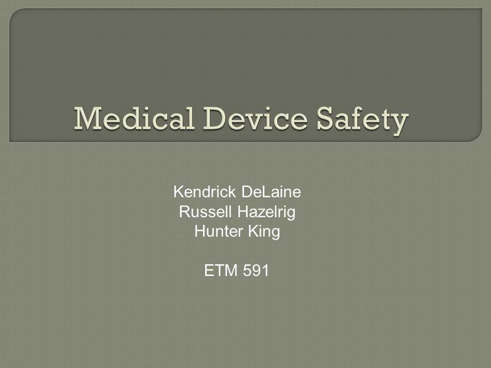 Kendrick DeLaine Russell Hazelrig Hunter King ETM 591