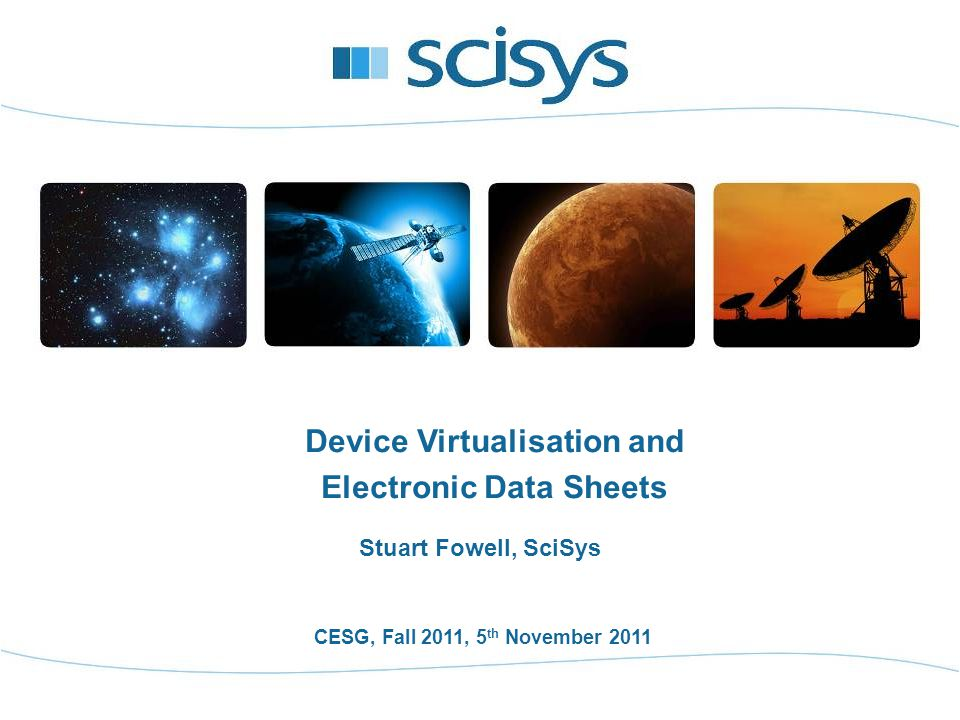 12 Device Virtualisation and EDS - CESG, Fall 2011, 5th November 2011 Book Structure & Relationship Generic EDS for a device type Generic Functional Interface [Book type?] Generic Functional Interface [Book type?] Common Dictionary of Terms (DoT) [Book type?] EDS Schema [Book type?] Generic Functional Interface [Book type?] Common DoT DataBase Generic EDS for a device type 11 2 3 4 Functional InterfaceElectronic Data Sheet * Priority * Standard CCSDS book * Equivalent in machine readable format Same EDS technology Transformation
