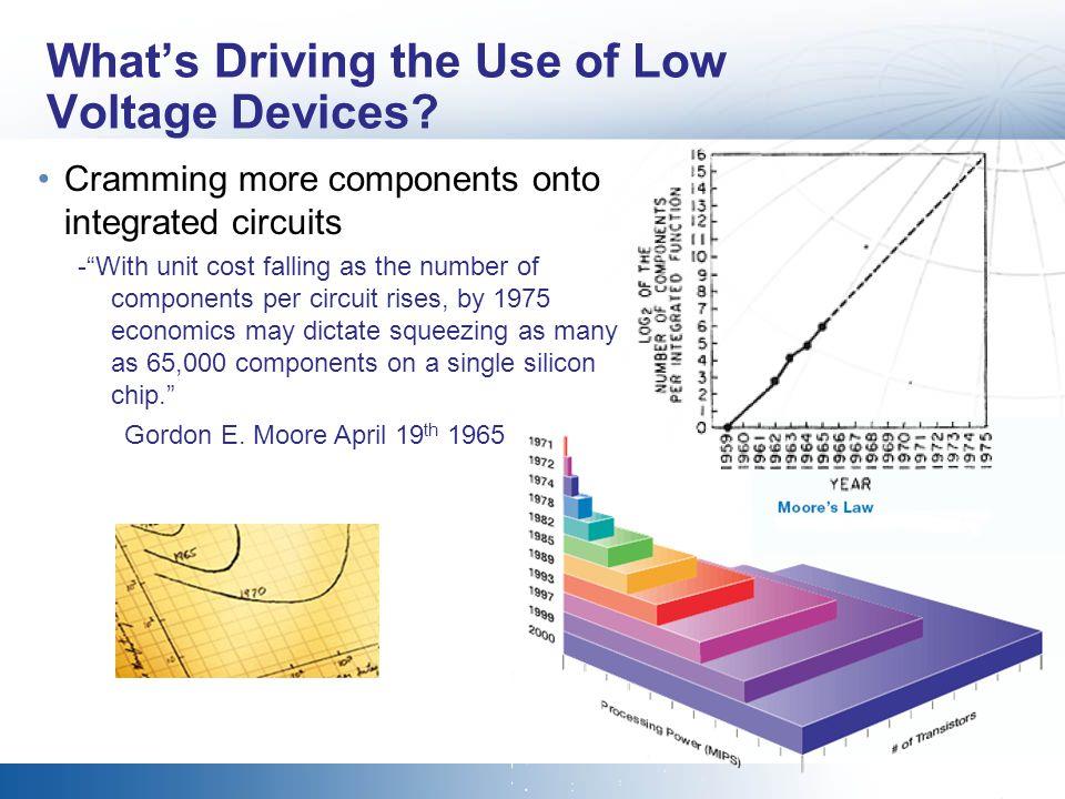 The 1980-90s Logic Family 5.0 4.5 4.0 3.5 3.0 2.5 2.0 1.5 1.0 0.5 0 Output Voltage (V) High Low 5.0V 3.3V 2.4V 0.8V 0 1 Logic Level